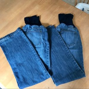 Two Motherhood Maternity Jeans